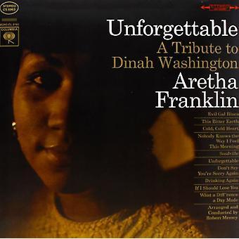 Aretha Franklin - uforglemmelig [Vinyl] USA importerer