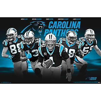 Carolina Panthers - Team 16 Poster Print