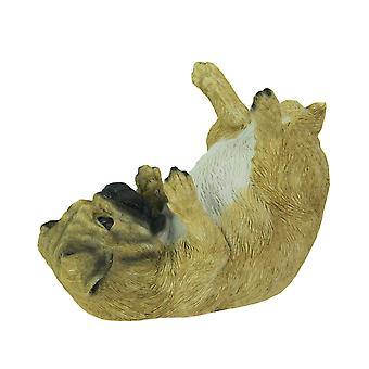 Parched Pug Dog Tabletop Wine Bottle Holder