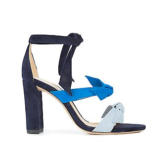 Alexandre Birman ladies B35039220001C062 Blau suede sandals
