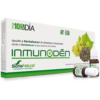 Soria Natural Inmunoden Senior 10 Fiale (Vitamine e supplementi , Integratori speciali)