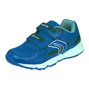 Geox J Bernie C Kids Trainers / Shoes - Royal Blue