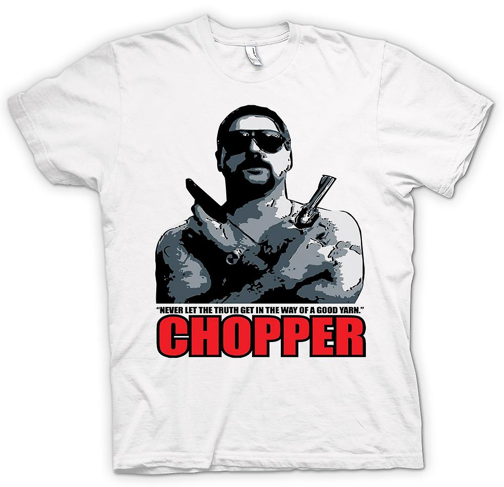 Mens T-shirt - Chopper - Reid gute Garn - Film - Komödie