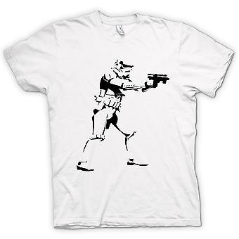 Mens T-shirt - Star Wars - Storm Trooper - Pop Art