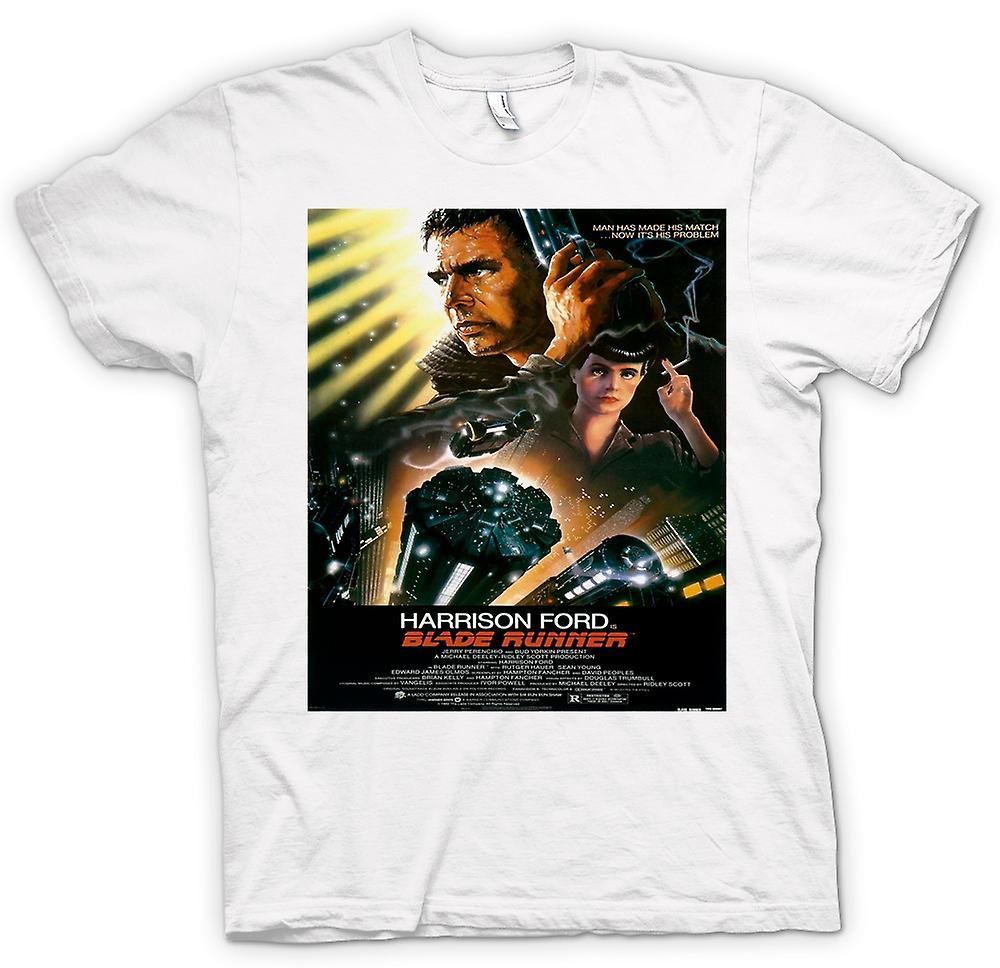 Womens T-shirt - Blade Runner - Sci-Fi - Film - Poster