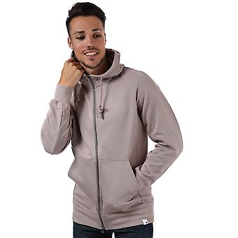 Heren adidas Originals Xbyo Full Zip Hoody In Beige/damp grijs