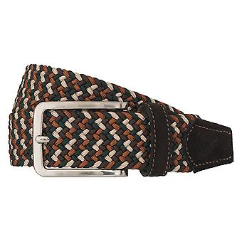 DANIEL HECHTER belts men's belts stretch belt braiding belt brown/beige 6538