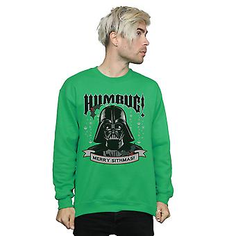 Star Wars Men's Darth Vader Humbug Sweatshirt
