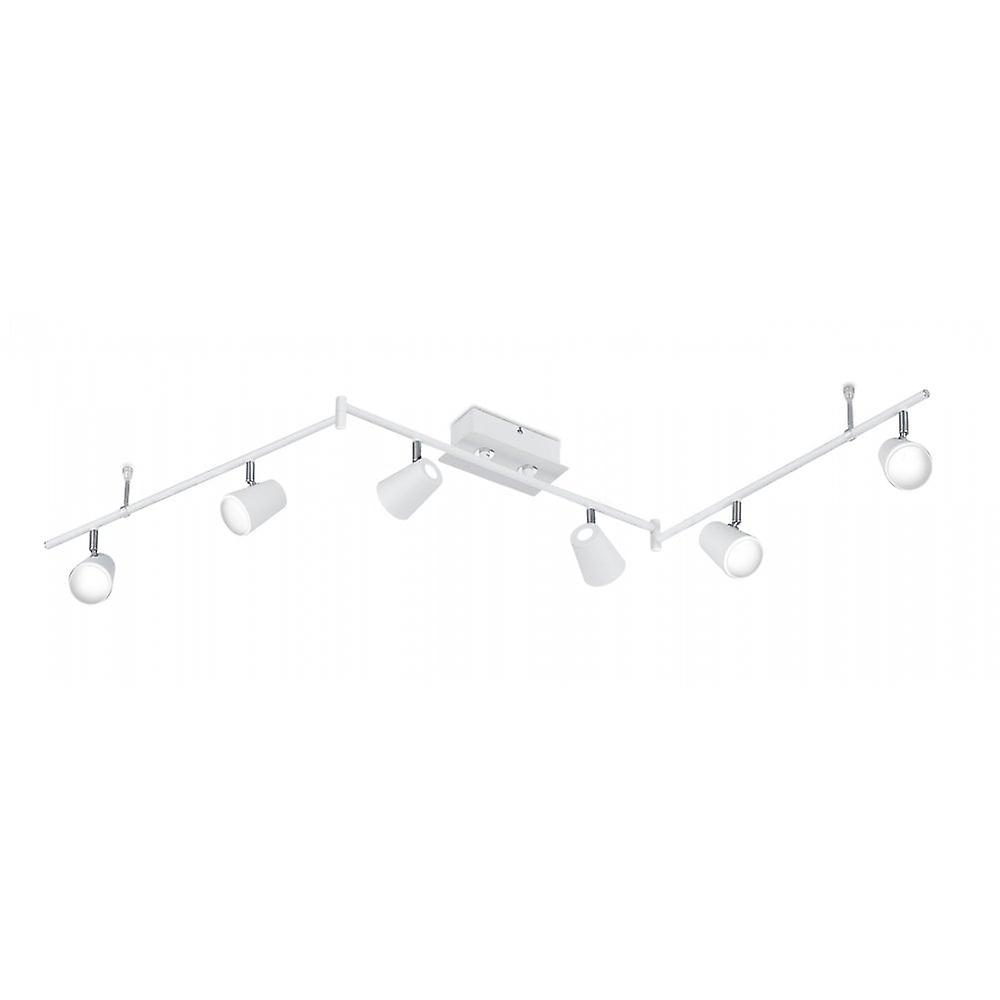 Trio Lighting Narcos Modern blanc Matt Metal Spot