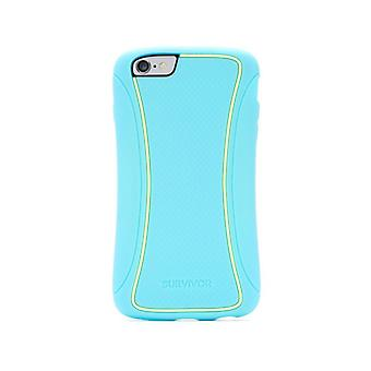 Griffin Survivor Slim TwoTone for iPhone 6/6s Plus coral island turquoise