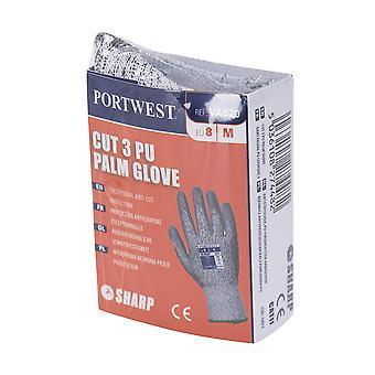 sUw - Mens Vending LR Cut Level 3 PU Palm Gloves