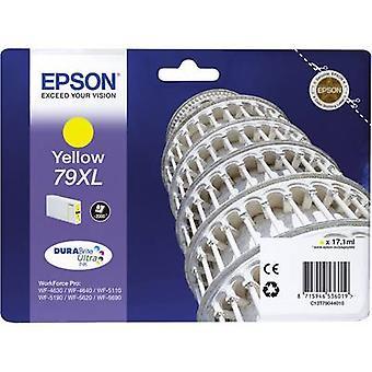 Epson inkt T7904, 79XL oorspronkelijke gele C13T79044010