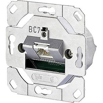 Metz Connect Network outlet Surface-mount CAT 6 1 port Metal