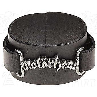 Motorhead Logo Leder Wriststrap