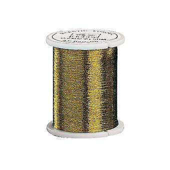 50m Metallic Gold 0.2mm Thread for Crafts | Christmas Ornament Hooks & Hangers
