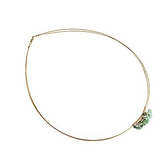 Emerald Necklace Emerald Necklace LOLLO halsketting voor dames-verguld