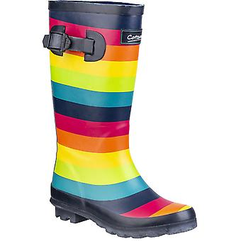 Cotswold Boys Rainbow Junior Multicoloured Wellington Boots