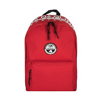 Napapijri HAPPY DAY PACK backpack leisure shoulder bag red 7412