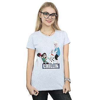 Delle donne Disney Wreck It Ralph 2 Elsa e Vanellope t-shirt