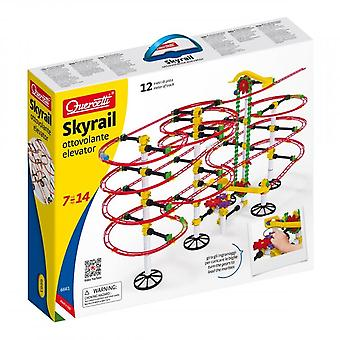 Quercetti Skyrail Ottovolante Elevator 360 Piece Marble Run Ages 7-14 Years