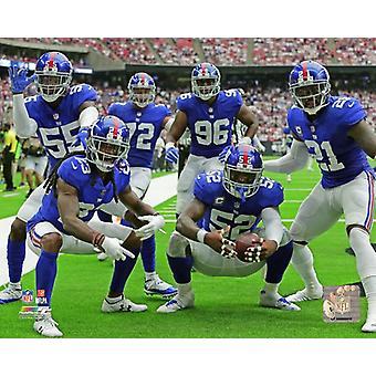 2018 New York Giants obrony Photo Print