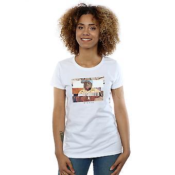 En rodajas foto camiseta notoria de la mujer grande
