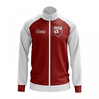 Tonga konceptet fotboll Track Jacket (röd)
