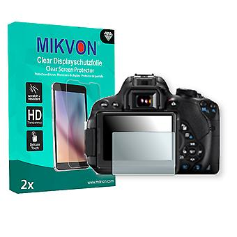 Canon EOS 700D Screen Protector - Mikvon Clear (Retail Package con accessori)