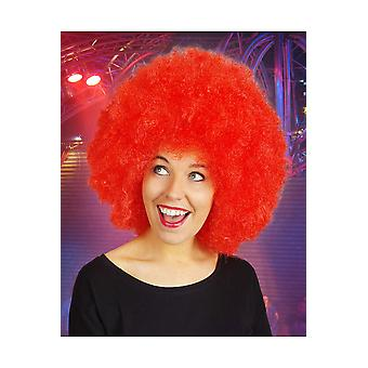 Perruques Afro perruque rouge
