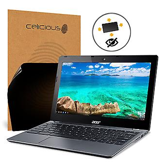 Celicious Privacy Plus 4-Way Anti-Spy Filter Screen Protector Film Compatible with Acer Chromebook 11 (C740-C4PE)