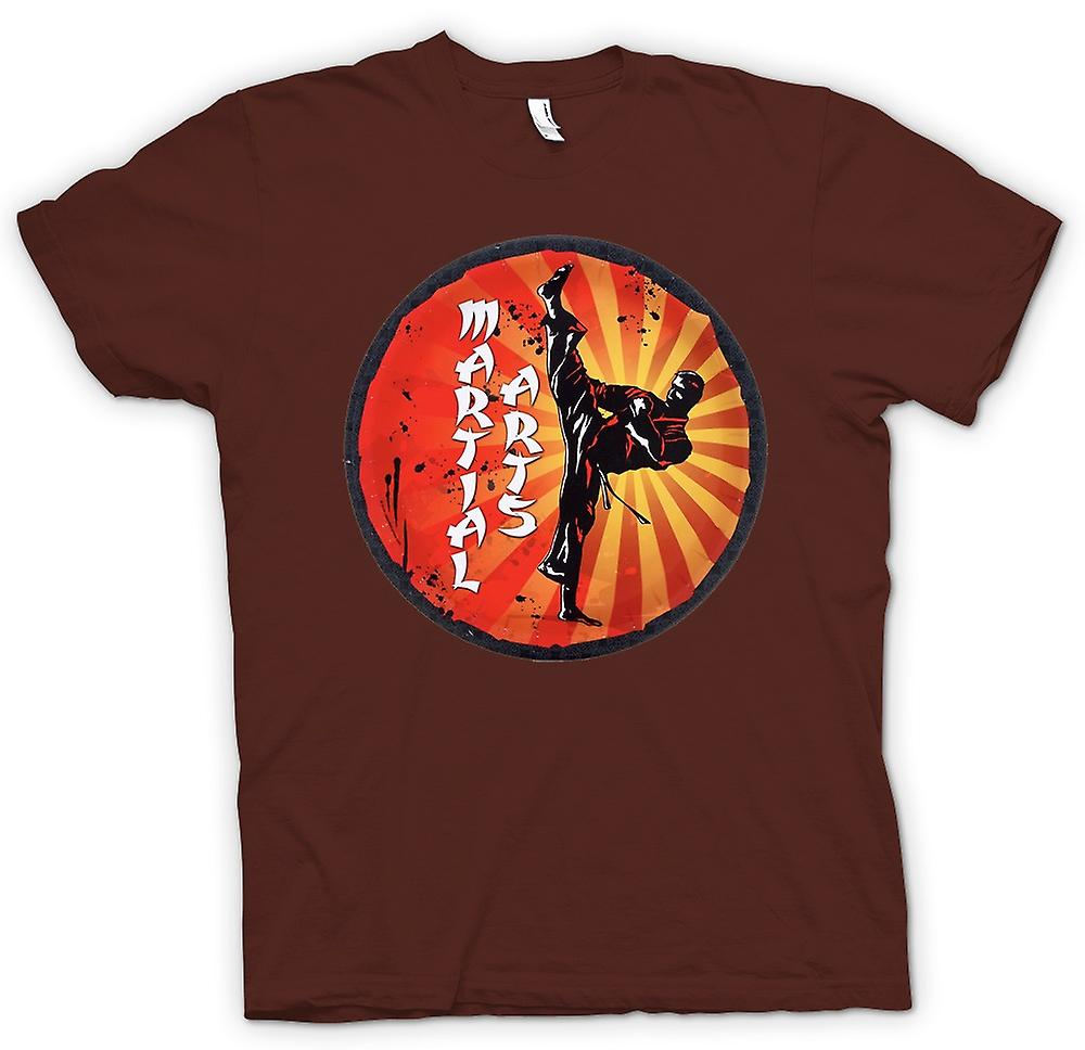 Heren T-shirt - Martial Arts - Pop Art Design