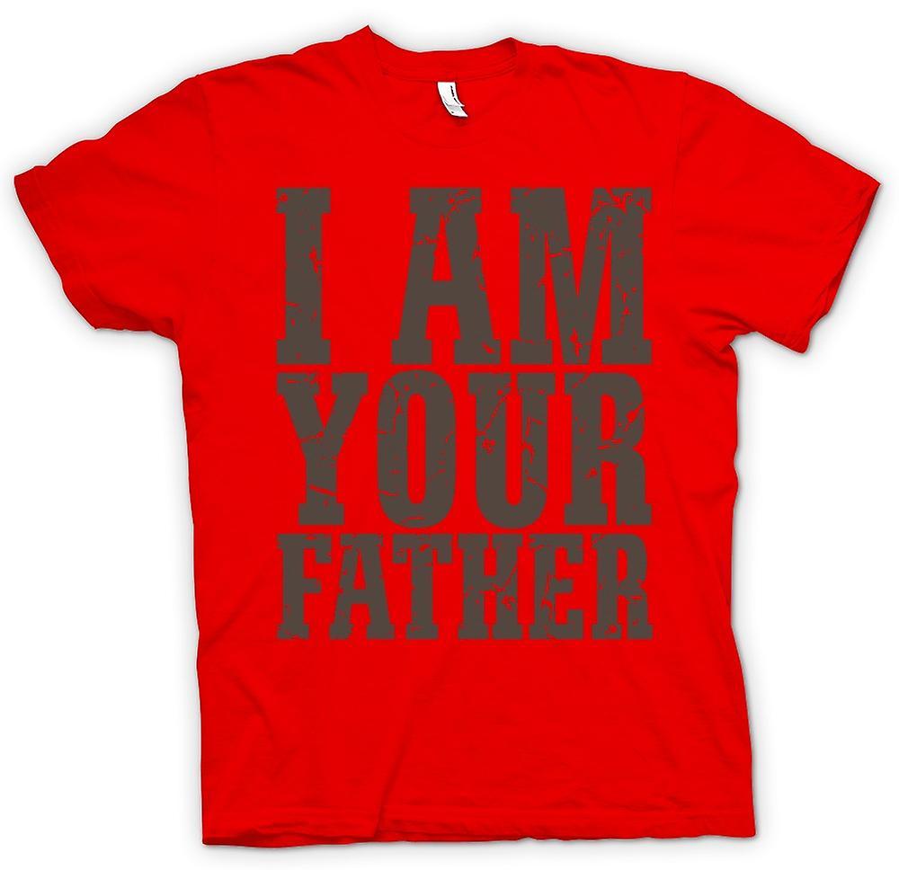 Heren T-shirt - Ik ben je vader - grappig