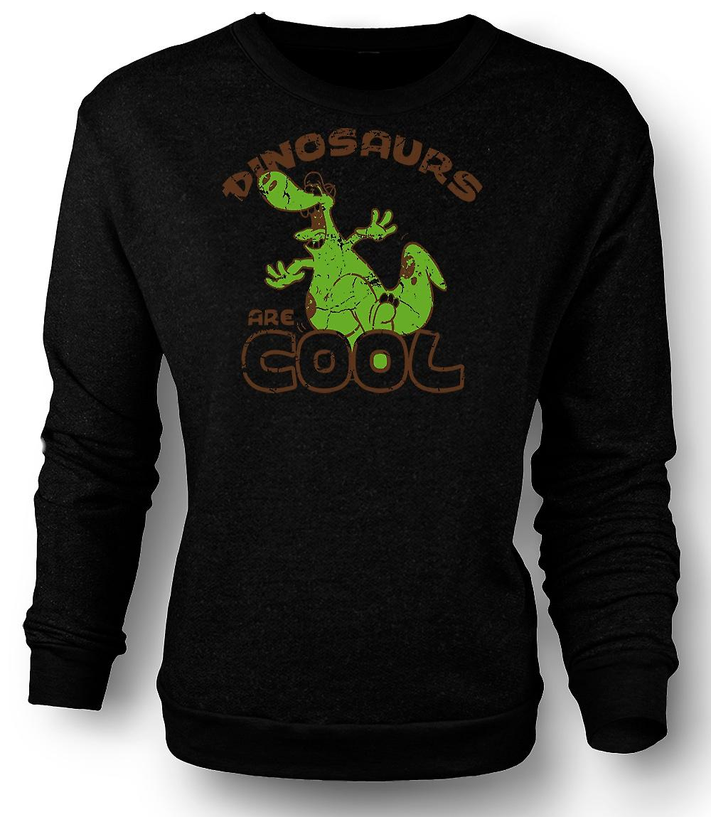 Mens Sweatshirt Dinosaurs Are Cool - Funny