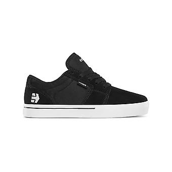 Etnies Black-White Barge LS Kids Shoe