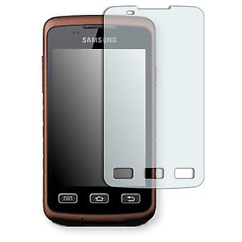 Samsung S5690 Galaxy Xtreme display protector - Golebo crystal clear protection film