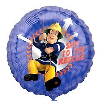 Fireman Sam Foil Balloon