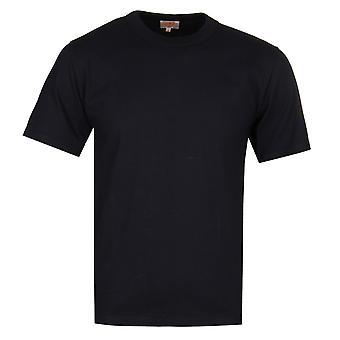Armor Lux Jersey Crew Neck Black T-Shirt