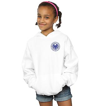 Marvel Girls Agents Of SHIELD Breast Print Hoodie