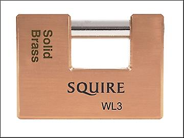 Henry Squire WL3 Warehouse Padlock 90mm Solid Brass