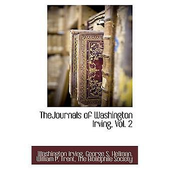 TheJournals de Washington Irving Vol. 2 par la société Bibliophile