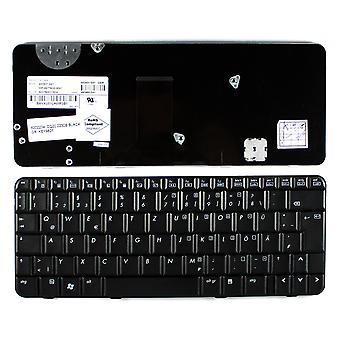 Compaq Presario CQ20-202TU diseño alemán negro teclado de ordenador portátil de reemplazo