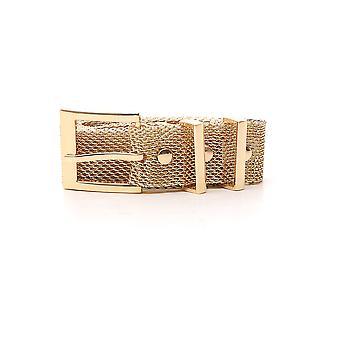 B-low The Belt Gold Metal Belt