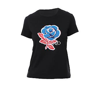 Kenzo Black Cotton T-shirt