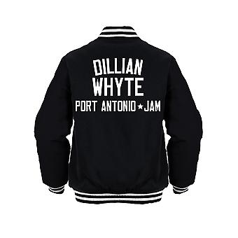 Dillian Whyte Boxing Legend Kids Jacket