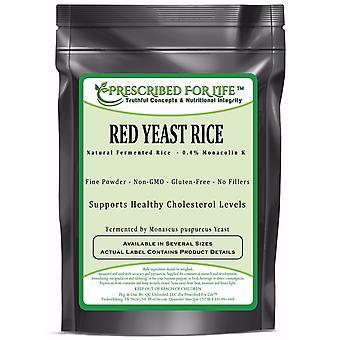 Red Yeast Rice - 0.4% Standardized Extract Powder (Monascus purpureus)
