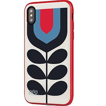 Orla Kiely: tulipan iPhone x beskyttende etui (iPhone x)