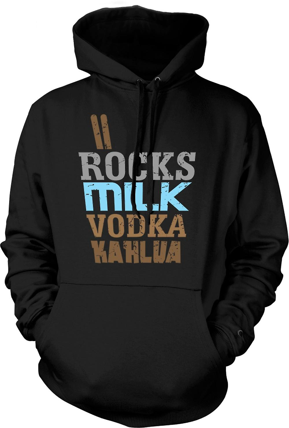 Mens-Hoodie - White Russian - Cool