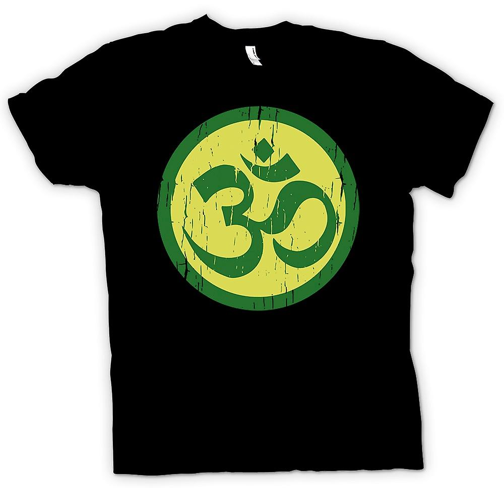 Heren T-shirt - Yoga spirituele Motif - Cool Fitness