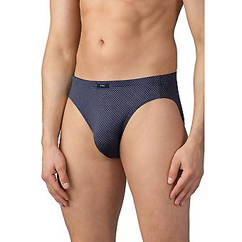Mey Men 19119-697 Men's Allingsas Soft Grey Geometric Print Brief