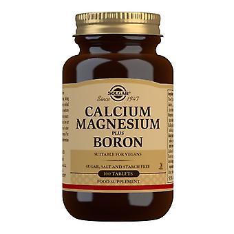 Solgar Calcium Magnesium Plus Bor 100 Tabletten (515)